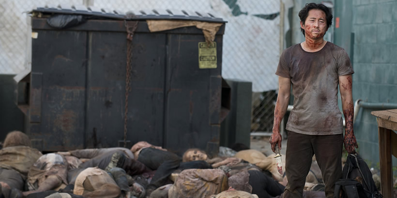 "Lo peor: ""Heads up"" (The Walking Dead)"