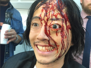 glenn-maquillaje-ojo-the-walking-dead-nicotero